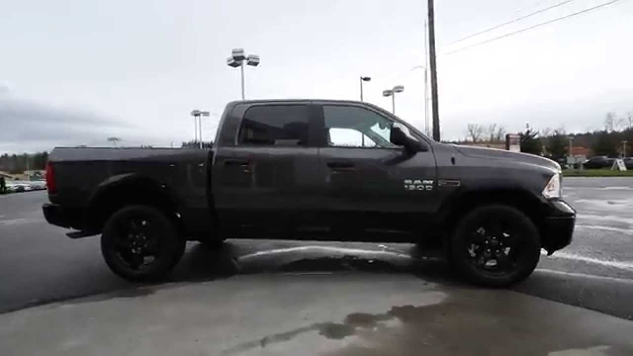 2015 Dodge Ram 1500 Crew Cab Granite FS537915 Mt