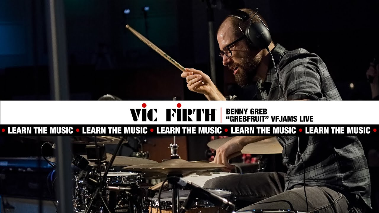 """Download Vic Firth: Learn The Music feat. Benny Greb 