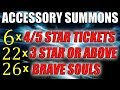 Bleach Brave Souls ACCESSORY TICKET SUMMONS! (Show me the Chappy)