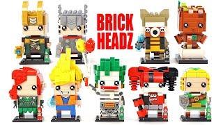 Marvel & DC Brick Headz Superheroes Dragon Ball Super Saiyan & The Legend of Zelda Nano Blocks