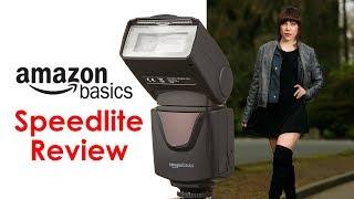 $30 vs. $350: Speedlite Showdown! (Amazon Basics Speedlite Review)