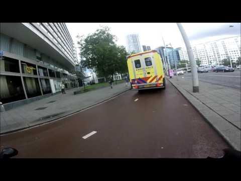 #GoPro scooter cam/ride through Rotterdam - #Ep.1