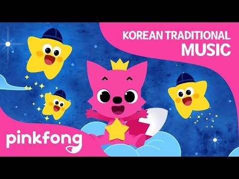 Twinkle Twinkle Little Star | Korean Traditional Music | Pinkfong Songs For Children
