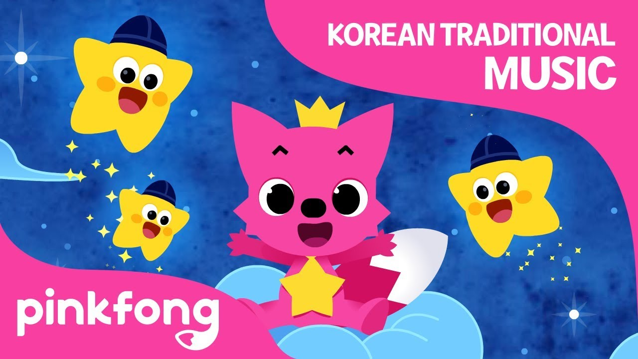 Twinkle Twinkle Little Star Korean Traditional Music Pinkfong Songs For Children Youtube