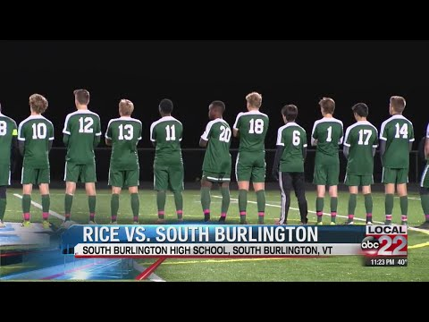 Rice boys' soccer edges out South Burlington