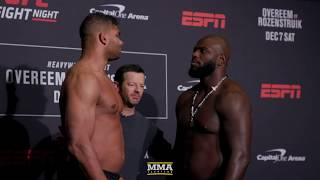 UFC on ESPN 7 Weigh-In Staredowns - MMA Fighting