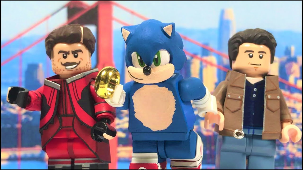 Lego Sonic The Hedgehog Minifigures 2020 Youtube