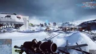 Battlefield 4 SRR-61 Gameplay on Operation whiteout Final stand DLC