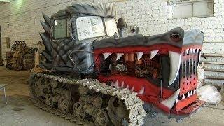 #52. Тюнинг гусеничный трактор(Представлен самодельный тюнинг моделей ВАЗ. Русские концепт кары и автомобили ограниченной серии. Соврем..., 2014-10-10T14:05:28.000Z)