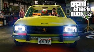 كولشي مبوق او سكران..  بسيارات مغربية 100% في لعبة حرامى السيارات 5 | Grand Theft Auto V PC