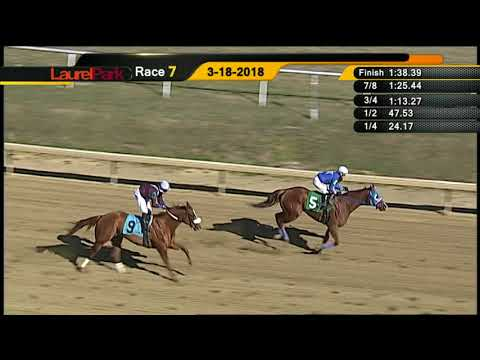 Laurel Park 3 18 18  Race 7