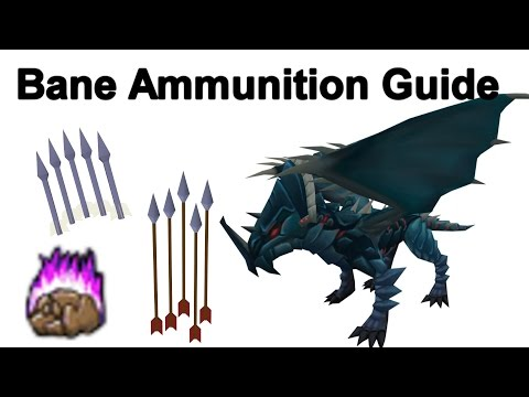 How To Make Dragonbane Ammunition (Arrows/Bolts) - Runescape 2015