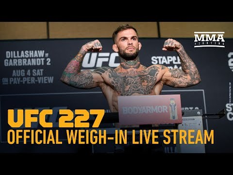 UFC 227 Official Weigh-in Live Stream - MMA Fighting