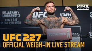 ufc 229 weigh-in