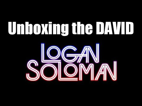 Logan Soloman David Alpha DIY Synth Unboxing