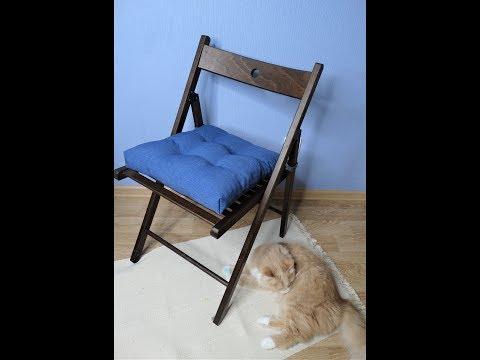 Сшить сидушку на стул своими руками