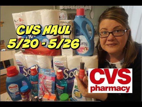 CVS HAUL 5/20 - 5/26 FREEBIE Mouthwash, Makeup & more!