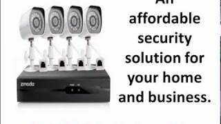 zmodo security camera system wireless