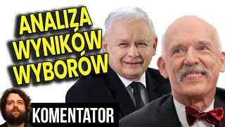 PIS Wygrywa Wybory - Konfederacja i Korwin w Sejmie - Platforma Płacze - Analiza Komentator Polityka