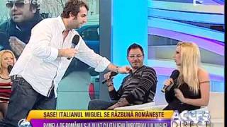Bataie acces direct, un italian vs PAMELA DE ROMANIA