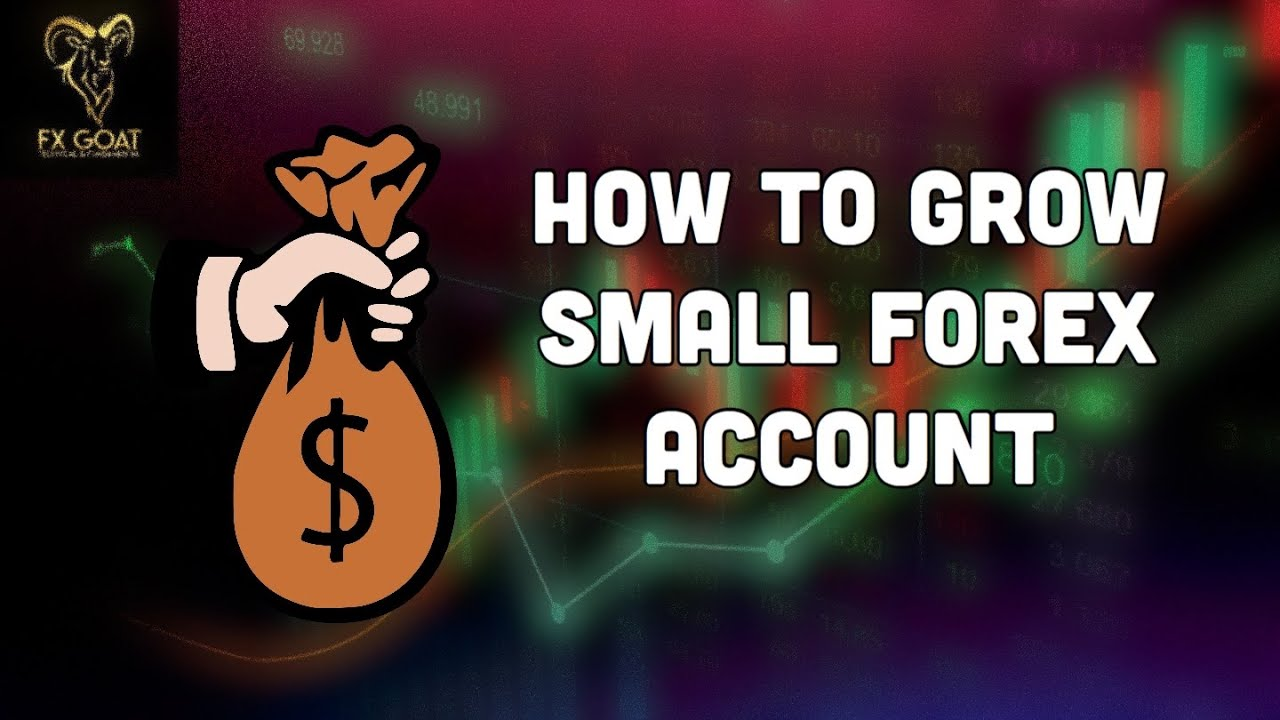 Forex • How to grow a small account | 2020 Strategy