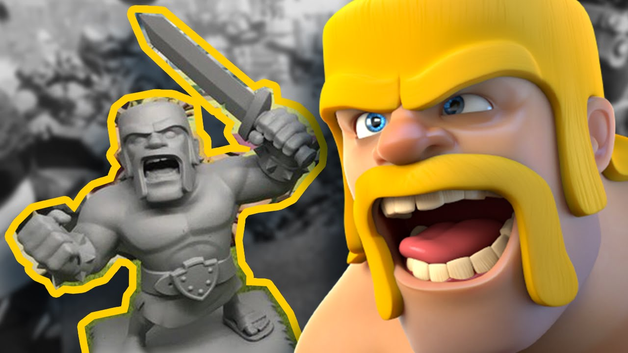 BONECOS OFICIAIS DO CLASH OF CLANS - ACTION FIGURES