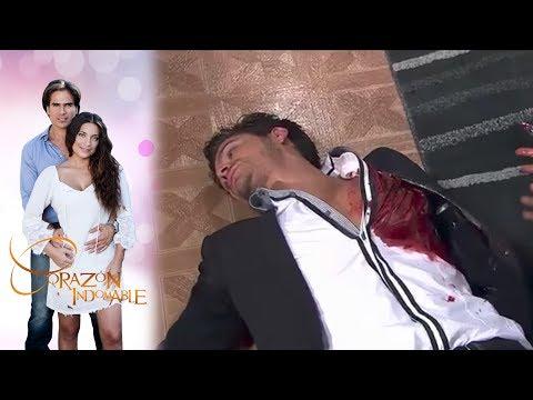¡Aníbal asesina a Alfonso! | Corazón indomable - Televisa