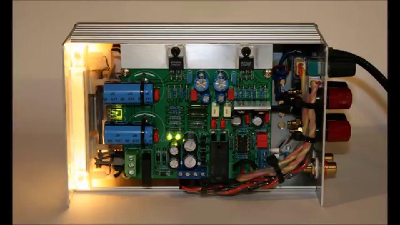 Diy Lm1875 Gainclone Power Amplifier Youtube 150w Lm3886