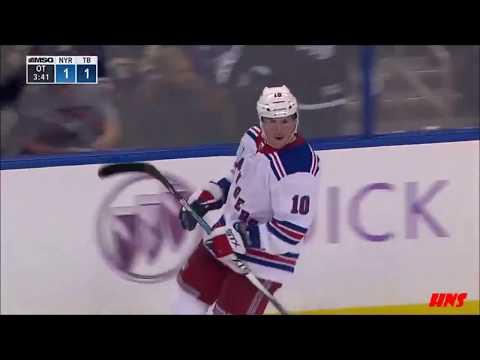 JT Miller Overtime Goal vs Tampa Bay Lightning for New York Rangers