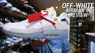 Gambar cover OFF WHITE NIKE AIR MAX 90 REVIEW