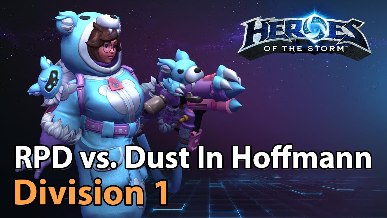 ► RPD vs. Dust In Hoffmann - Division 1 - Heroes of the Storm Esports