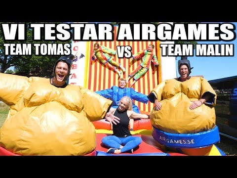 VI TESTAR AIRGAMES *TEAM TOMAS VS TEAM MALIN*