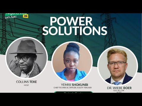 Monday, 14th September, 2020, Guest - Yemisi Shokunbi, Chief Technical Officer, Soleff Tracker and Edah Oyesola Alake, CEO, Soleff Tracker