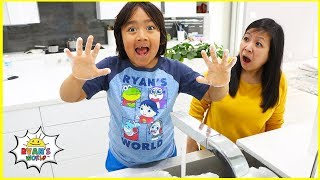 Ryan Learns Wash Hands Healthy Habits for kids!!!