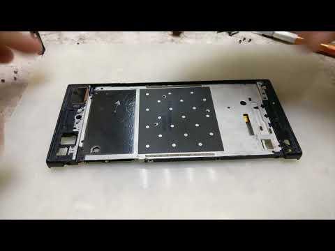 Sony XA1 G3112.Замена модуля.Телефон c мудрой конструкцией /G3112 Display replacement