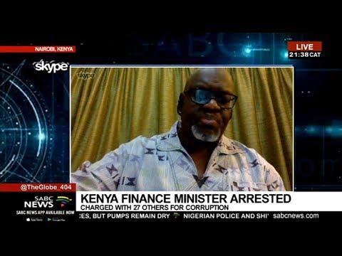 Arrest of Kenyan Finance Minister: John Githongo