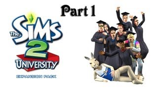 Lets Play: The Sims 2 University (Part 1)