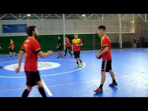 Fatec São Paulo x EACH - Semifinal -III Camp.  Hand.  Masc.   3/6/2017 - Interatléticas