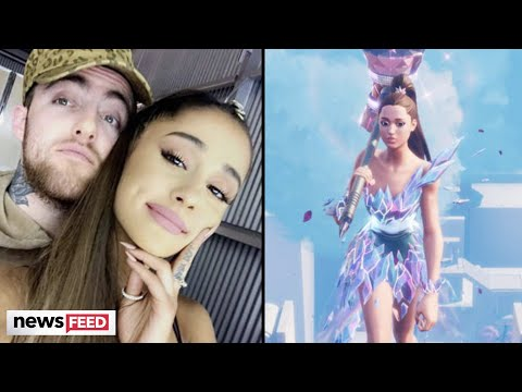 Ariana Grande Pays Tribute To Mac Miller In Emotional Fortnite Performance