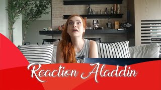 Reaction Aladdin trailer