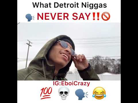 What Men Don't Say In Detroit