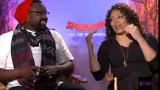 Luna Lauren Vélez and Brian Tyree Henry as Miles Morales' Parents in 'Spider-Verse'