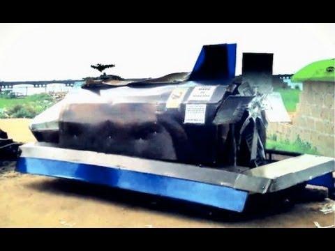 CRAZY! Inside A DIY Rocket Car!!