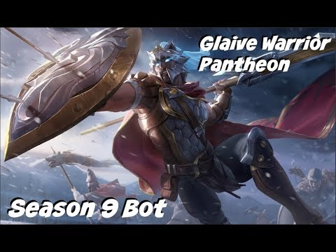 League of Legends: Glaive Warrior Pantheon Bot Gameplay