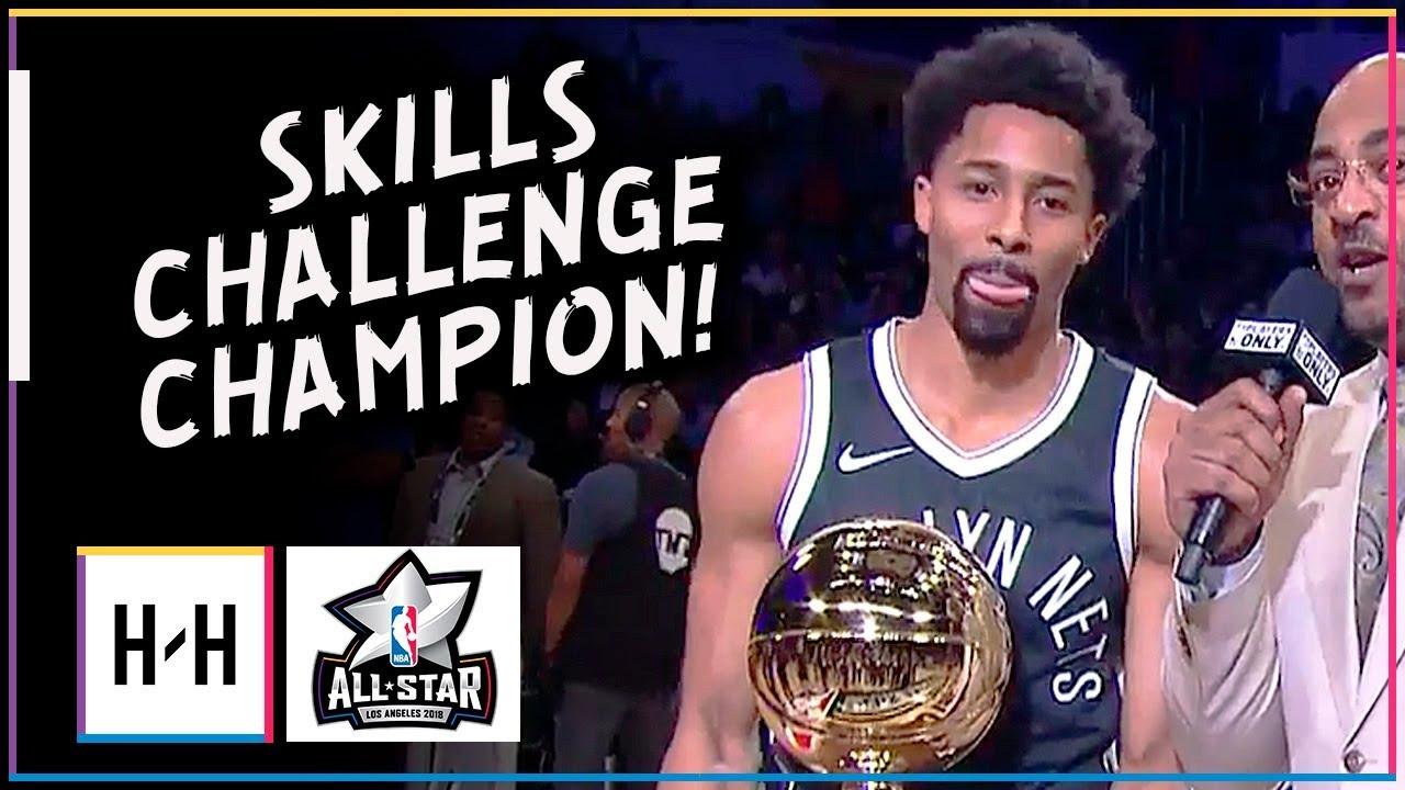 spencer-dinwiddie-full-highlights-at-2018-all-star-skills-challenge-champion