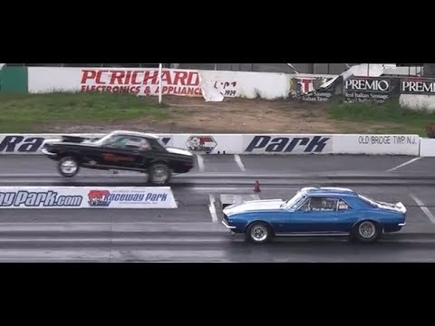 Drag Racing American Muscle Cars Englishtown Nj Youtube
