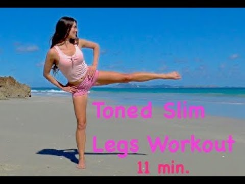 Toned Slim legs workout | Pilates with Vicky