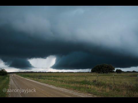TORNADO Warned Supercell Windthorst Texas 05-19-2017