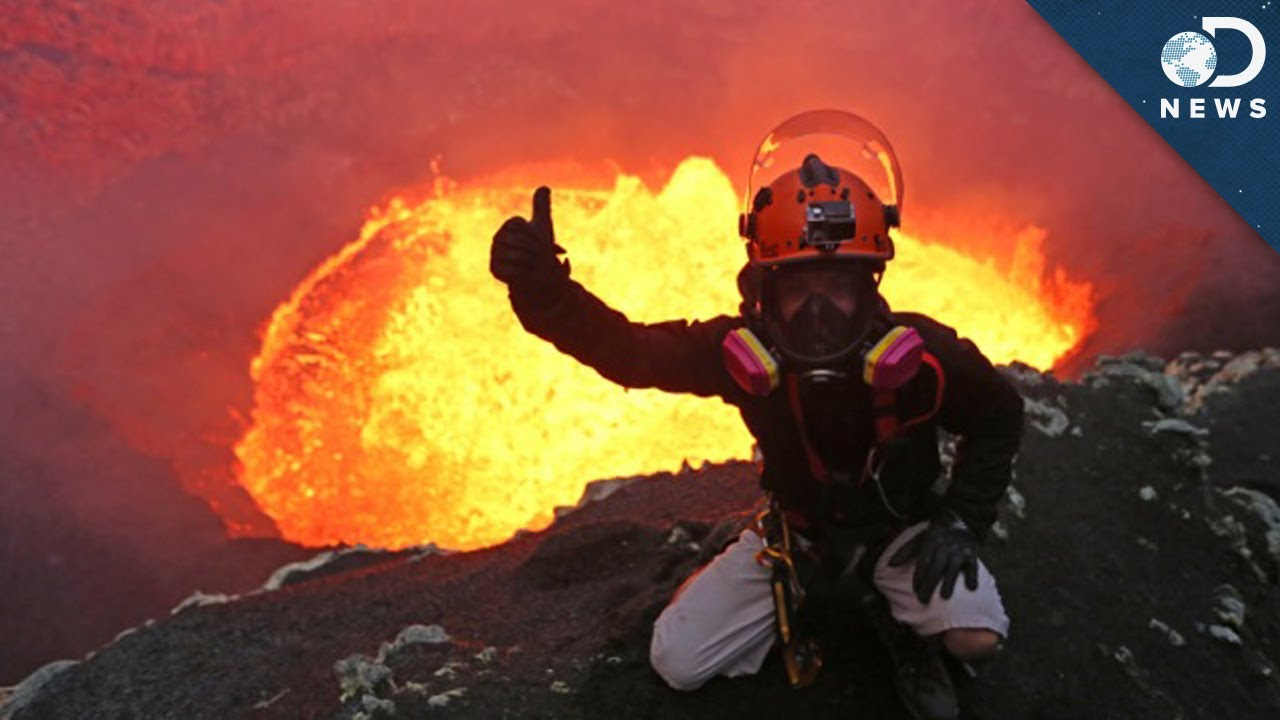 what s it like inside a volcano youtube