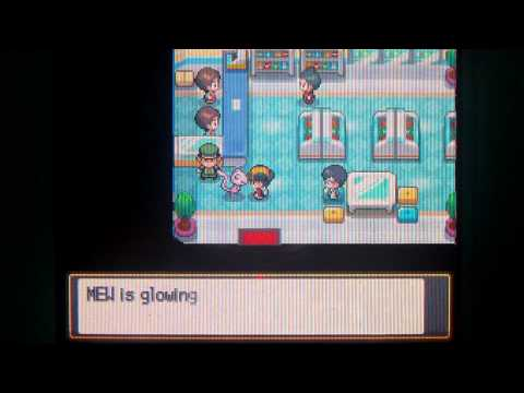 Pokemon Heart Gold And Soul Silver Mew Event Exclusive Gameplay English
